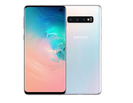 Samsung Galaxy S10: 6.1 inches, 128GB + 8GB (Dual SIM)