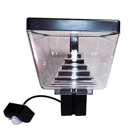 GARDEN LAMP WITH SENSOR MOTION SS802B-1 BLACK