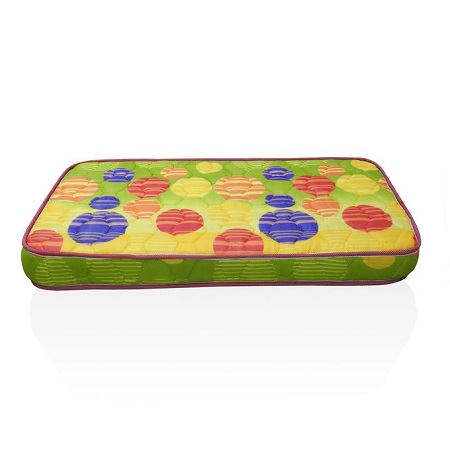 Superfoam Multi-Colored Baby Cot Mattress (Foam Medium Density Mattress, Firm) 48