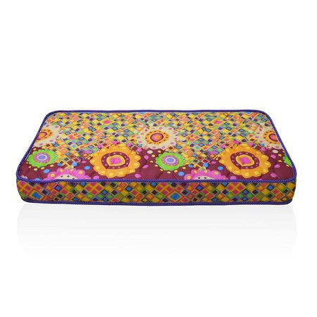 Superfoam Multi-Colored Baby Cot Mattress 48