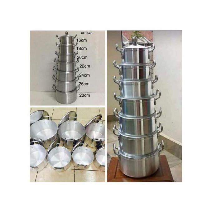 Stainless Aluminium Cooking Sufuria