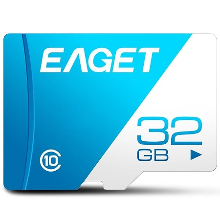Eaget 32GB Memory Card - Blue