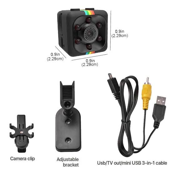 Mini SQ 11 Spy Camera 1080P