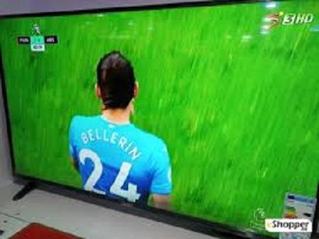 Synix 55T730U - 55 Inch 4K ULTRA HD ANDROID TV, NETFLIX, YOUTUBE – Black