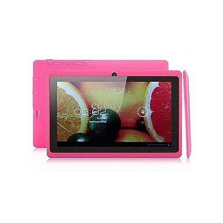 Kid Tablet-7 Inch -8GB-Wifi -Quad Core -Pink