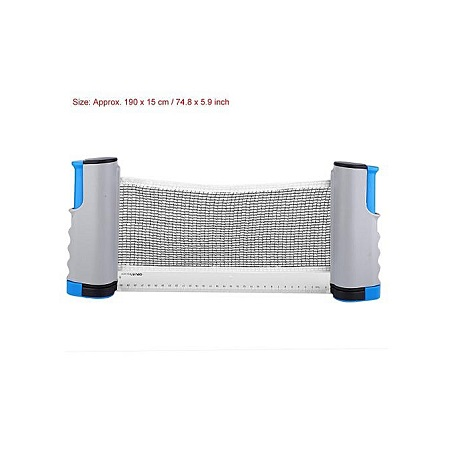 Retractable Table Tennis Net With Post