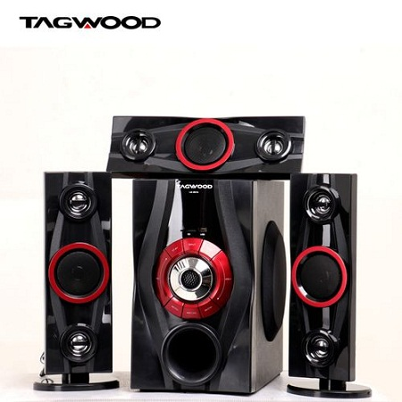 TAGWOOD MP-631A Multimedia Speaker System 3.1CH :9800W - Black