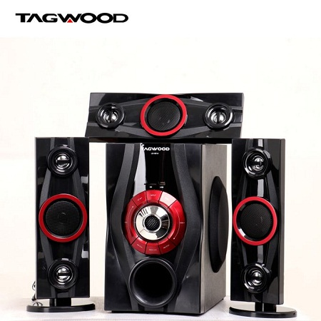 TAGWOOD MP-631A Multimedia Speaker System 3.1CH :9800W - Black