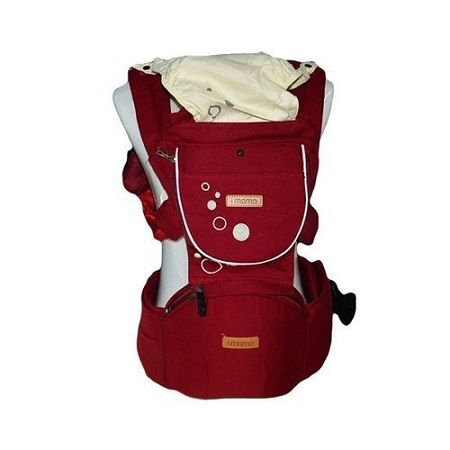 IMama Breathable Baby Carrier with Hip Seat