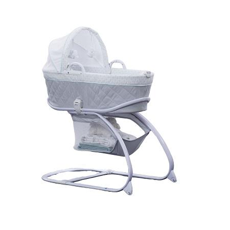 2-in-1 Moses Basket Bassinet Baby Carrier Bedside Crib