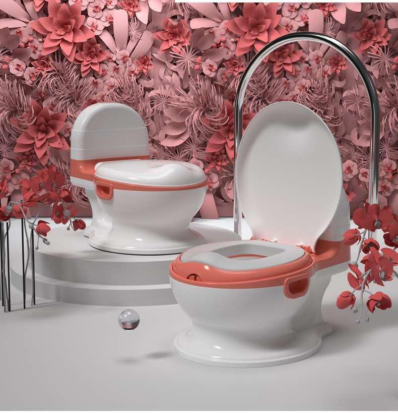Adult-like Baby Potty Training Toilet