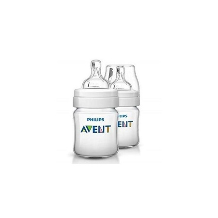 Avent Natural Feeding Bottle 0 Month+ 125 ml 2 Pieces