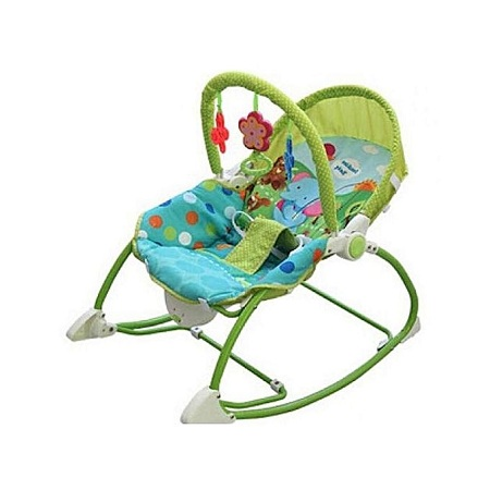 Fisher Price Superior Infant to Toddler Rocker/Bouncers ( 0+ months) - (Big Size) Green