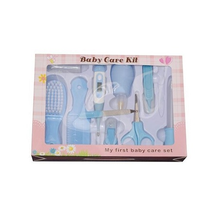 Generic 8-Piece Baby Care Grooming Kit - My First Baby Care Set