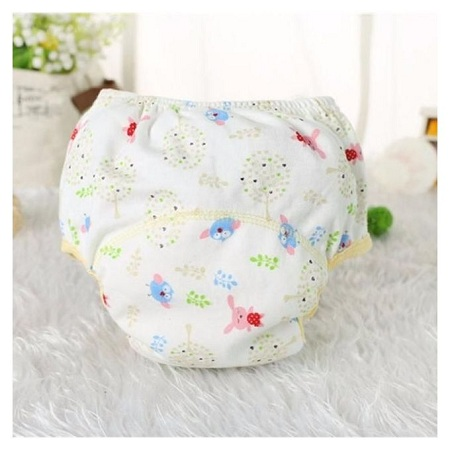 Generic Baby Cotton Training Pants Reusable Cloth Diaper