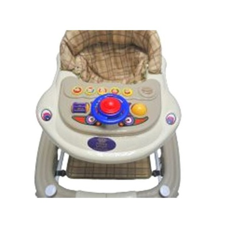 Generic 2 in 1 Baby Walker/Rocker - Multicolor.