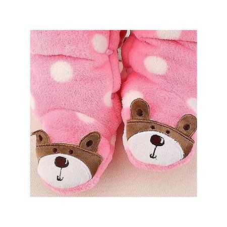 Generic Baby Winter Jumpsuit / Romper-pink