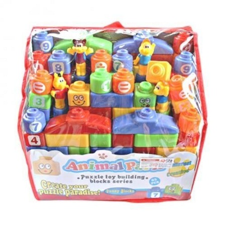 Generic 85PCS Building Blocks (Animal Park ) - Multicolor