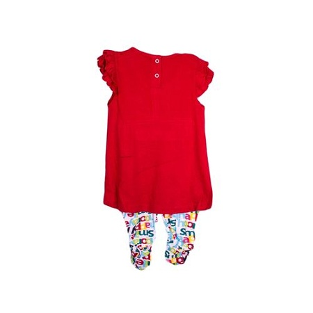 Generic 2pc Girls Set(Top And Tights) - Multicolored