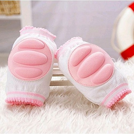 Generic Infant Toddler Baby Knee Pad Crawling Safety Protector - pink