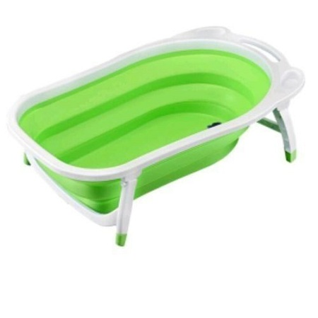 Generic Newborn-to-Toddler Portable Folding Bath Tub - Green