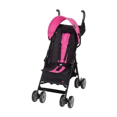 Generic Pink lightweight Foldable Baby Stroller/ pram/push chair/ buggy