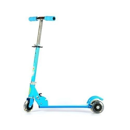 Generic Portable,Foldable And Height Adjustable Scooter For Kids - Blue