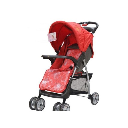 Generic Red Foldable Baby Stroller/ pram/push chair/ buggy