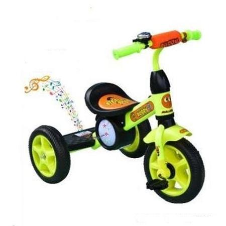 Generic Superior Kids Bike with Music & Lights - Green