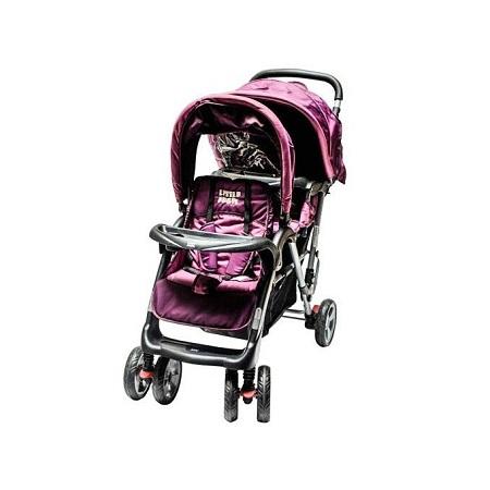 Generic Twin Stroller - Purple
