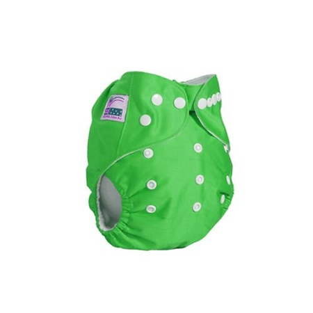 Generic Washable Reusable Adjustable Baby Diaper with 3 Inserts