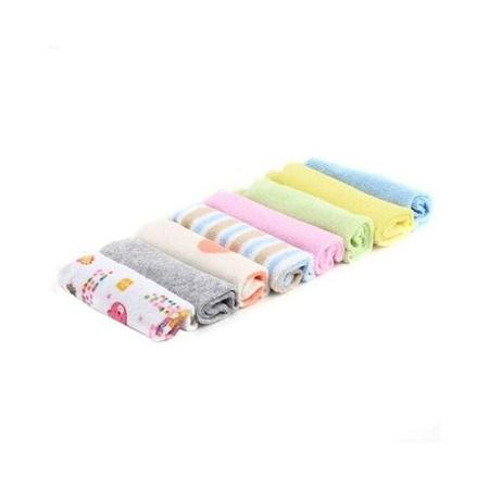 Gerber 8Pcs Assorted colors Infant Newborn Bath Towel Washcloth