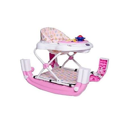King'S Collection 2 in 1 Baby Walker - Pink