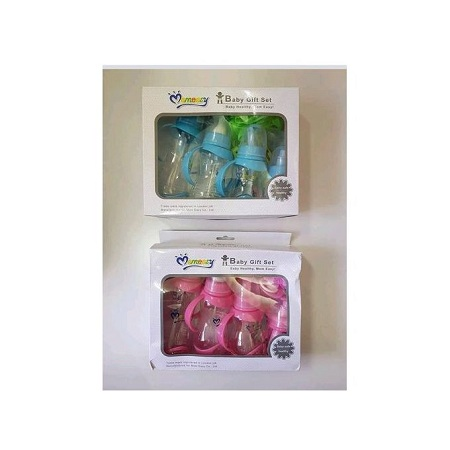 Mom Easy Elegant Baby Gift Set Pack (Mom easy ) Baby Healthy- pink