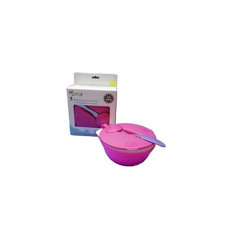Mom Easy 2 Weaning Bowls and Lid and Temperature Sensing Spoon