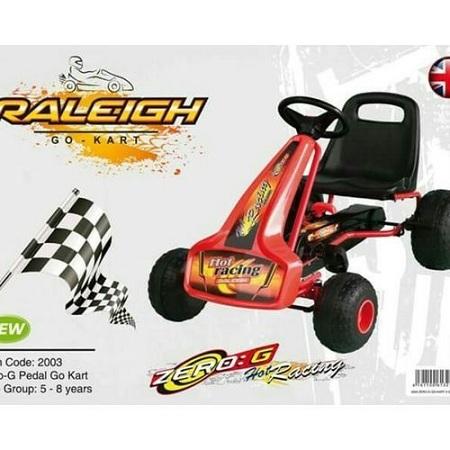 Raleigh Zero G Pedal Go Kart (4-8yrs)