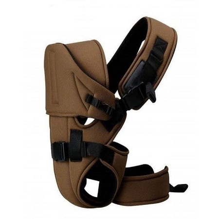 Baby Carrier With a Hood - Brown