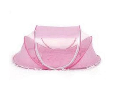 Baby Cot mosquito net - Pink