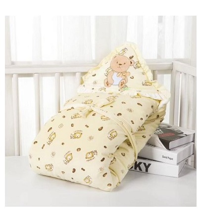 Fashion Baby Sleeping Bag - Baby Blanket - Baby Wrap Swaddle Blanket- Off white