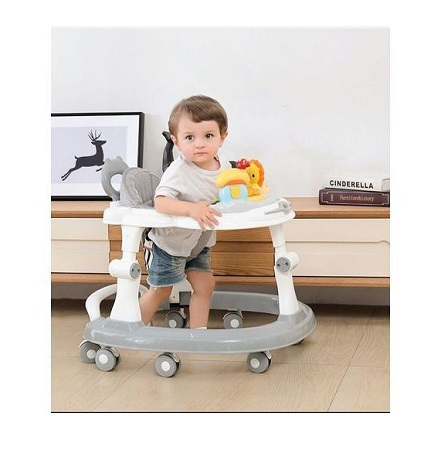 Multi-functional Baby Walker - Anti-rollover Height Adjustable