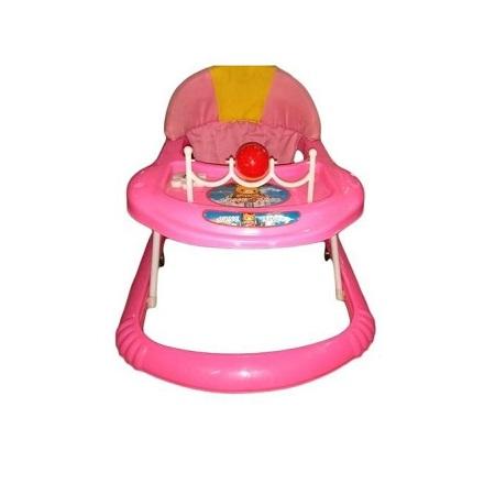 Baby Walker For Kids- Pink
