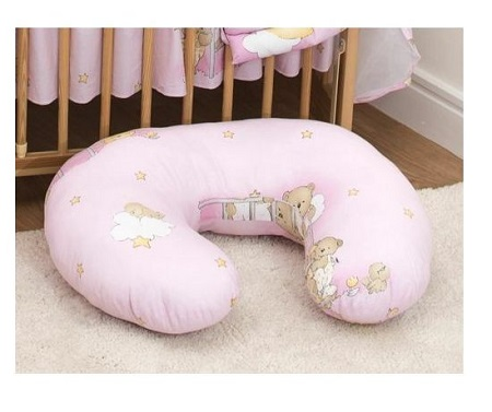 Breastfeeding Pillow- Pink theme, Print may vary