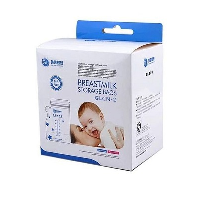 Breastmilk Storage Bags - 30 Count Milk Storage Bags for Breastfeeding