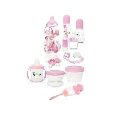 Baby bank/ feeding bottle Set-10 pieces