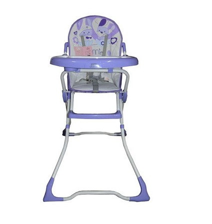 Superior Baby Feeding High Chair (5 months- 5 years)- Purple