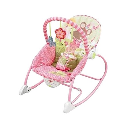 Fisher Price Infant to Toddler Rocker/Bouncers- Pink