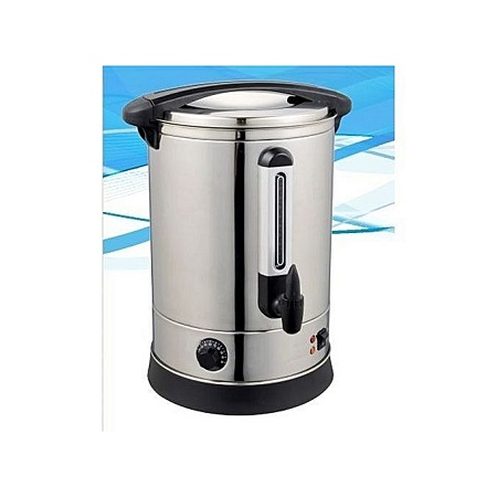 COMMERCIAL ELECTRIC TEA URN silver 20lts