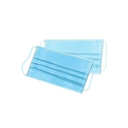 Generic 3 Ply Virus Bacterial Filter Disposable Surgical Face Masks - 5 Pieces