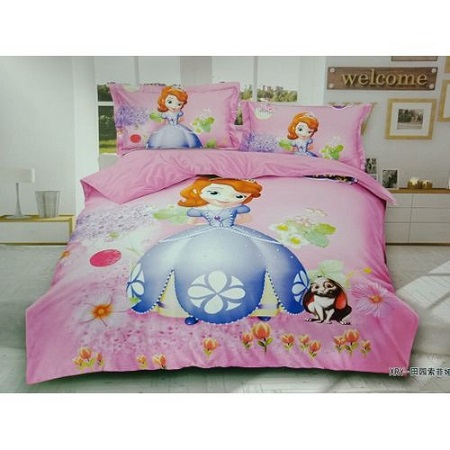 Kids cartoon themed duvets multicolour 4*6