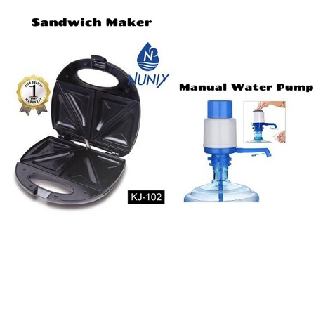 Sandwich Maker & Toaster  plus Water Pump
